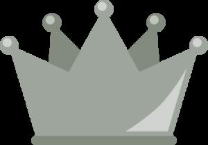 銀色の王冠